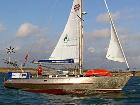 Vbe: Steel expedition yacht for sale